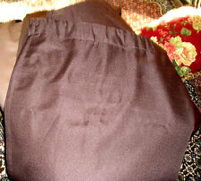 "Room Darkening Back Tab Rod Pocket Drape Panel 52""x84"" JC PENNEY CHOCOLATE BROWN"