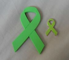 ***NEW*** Cerebral Palsy awareness ribbon enamel & magnetic badges. Charity