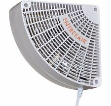 ENTREE AIR 110 V Fan moves warm/cool/heat from Heat Pump Wood stove Mini Split