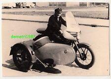 Foto Awo Gespann Motorrad Beiwagen um 1965/70 Oldtimer ! (F1947
