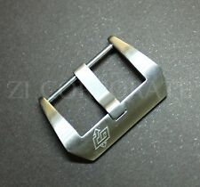 22MM Pre V Screw Buckle For Watch Leather Rubber Strap 44MM Brushed Clasp