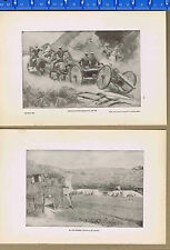 Astor Artillery Battery & Spanish Trenches at Manila-- 1900 Pages of History