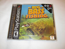 Big Bass Fishing (Playstation PS1) Brand New, Factory Sealed!