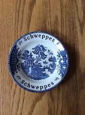 Schweppes Small Blue Willow Bowl Enoch Wedgewood Tunstall LTD England