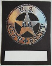 Adam Ant/ The Ants  US Tour meet and greet pass