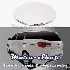Chrome Fuel Gas Filler Door Cap Cover Trim for 15+ Kia Sedona/Carnival