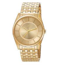 ESPRIT SLIM'S MEN Gold ES104201007 Edelstahl Gold Herren Armbanduhr Analog Neu