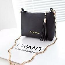 Tassel Mini Shell bags Candy Chain Women Leather Messenger Shoulder Handbag Bags
