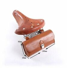 Vintage Bicycle Tail Bag Bike Saddle Bag Hanging Back Seat Tail Pouch bags