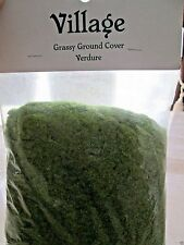 DEPARTMENT 56 VILLAGE GRASSY GROUND COVER VERDURE SEALED MADE IN GERMANY