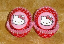 Hello Kitty Mini Bake Cups,Wilton,100 ct.Cupcake Papers,415-7622,Pink,Valentines