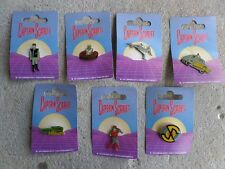 Gerry Anderson TV Series Captain Scarlet & The Mysterons Badge Set 7 Diff MOC