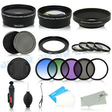 Camera Lens Adapter Filters Kit for Canon PowerShot SX500 IS SX510 HS SX410 IS
