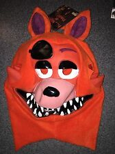 NWT FIVE NIGHTS AT FREDDY'S FOXY MASK HALLOWEEN I SHIP EVERYDAY