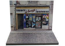 Diorama boutique Tabacs-Journaux/Tobacconist-Newsstand - 1/43ème - #MR43A093