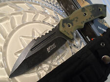 Mtech Xtreme Combat Dagger Bowie Knife Full Tang 440C MX-8133DG Molle G10 New