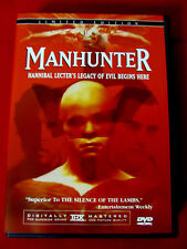 Manhunter:Limited Ed.2 DVDs OOP Directors Cut+extras William Peterson Hannibal