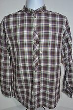 PAUL SMITH Jeans Classic Fit Man's Casual Plaid Shirt NEW Size Large Retail $295