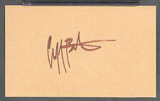 Cliff Burton Metallica Autograph Reprint Appears Authentic On 3x5 Card