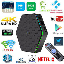 Orow T95Z plus Smart TV Box Amlogic S912 Octa Core Android 6.0 4K 2GB/16GB 2WIFI