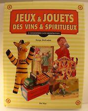 Jeux & Jouets des vins et spiritueux Serge Defradat Du May neuf