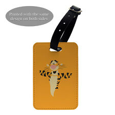 Winnie The Pooh Luggage Suitcase Baggage Tag - Tigger - G1329
