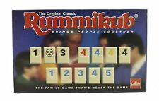 THE ORIGINAL RUMMIKUB GAME BY GOLIATH 1995 - FAMILY TILE FUN COMPLETE VINTAGE