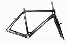 50cm Cyclo cross Carbon Frame Fork Cantilever V brake Internal 3k glossy BB30