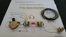 """Telecaster Special / """"Fat"""" Tele 5-Way Wiring Kit"""