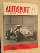 AUTOSPORT April 25th 1958 - AINTREE 200, Renault Alpine Coupe Test