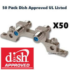 50 Pack Aska Dish Approved UL Dual Ground Block Screws 3GHz Directv GB-3UL x50