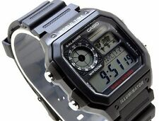 AE-1200WH-1A Japan Movt New Genuine Casio Watch 10-Year Battery World Time Men's