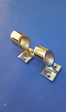 Pair Marine Stainless Steel 316 Central Handrail Bracket Tube/Rail 25mm or 1""