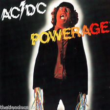cd slip cartón  AC DC......POWERAGE...PARA FANSSS