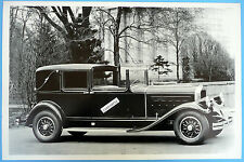 "12 By 18"" Black & White Picture 1930 Pierce Arrow touring Town Car"