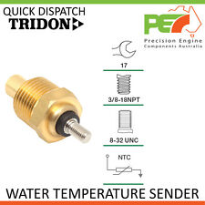 * TRIDON * Water Temperature Sender For Ford Falcon - 6 Cyl Falcon - 8 Cyl XD,XE