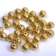 Wholesale Tibetan Silver, Gold, Bronze, Flower Loose Spacer Beads 7.5MM CW567