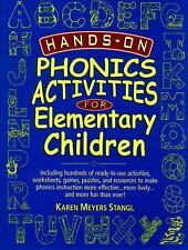 Hands-On Phonics Activities for Elementary Children, Stangl, Karen Meyers, Accep