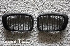 GRILL KÜHLERGRILL SET für BMW E46 3er CABRIO COUPE 99-02 M3-LOOK SCHWARZ MATT
