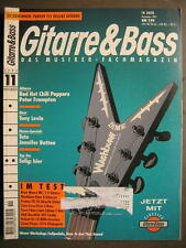 GITARRE & BASS 1995 # 11 - RED HOT CHILI PEPPERS PETER FRAMPTON TONY LEVIN TOTO