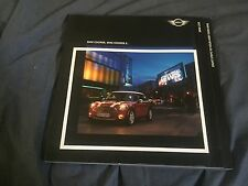 2005 BMW Mini Cooper S USA Market Color Brochure Catalog Prospekt