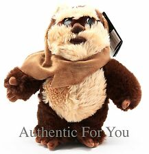 "NEW Disney Parks Star Wars Weekends Ewok Wicket W. Warrick Plush 9"" Doll Toy"
