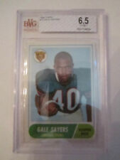 1968 GALE SAYERS #75 TOPPS BVG GRADED 6.5 EX-MT+ - BOX CC