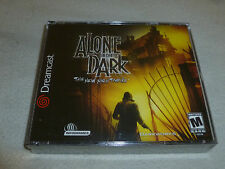 BRAND NEW FACTORY SEALED SEGA DREAMCAST GAME ALONE IN THE DARK THE NEW NIGHTMARE