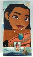 "Disney Moana Face Pillow & 40"" x 50"" Throw Blanket"