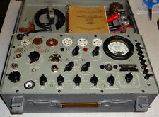 FULLY CALIBRATED AND SERVICED TV7BU TUBE TESTER HICKOK DESIGNED