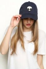 brandy melville navy blue katherine alien patch baseball Hat Nwt