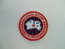 1 x CANADA GOOSE Arctic Program Logo Embroidered Iron/Sew-on Badge  NEW