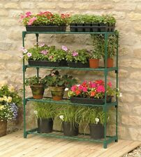 Walk In Greenhouse Garden Grow House Plant Storage Shelving Outdoor Flowers 2PK