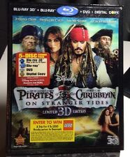 Pirates of the Caribbean:On Stranger Tides (3D+Blu-ray, 2011)Lenticular Cover